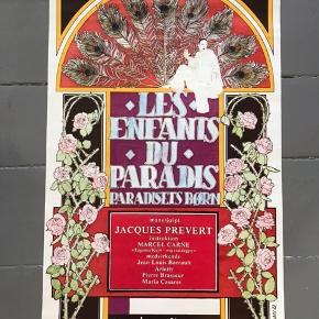 """""""Les enfant du Paradis"""" vintage filmplakat fra 1982 83x53,5 cm God stand.  #lesenfantduparadis #paradisetsbørn #filmplakat #plakat #vintageplakat #kunstplakat #tingtilvæggen #gallerivæg #billedvæg #kunstvæg #tilvæggen #kunsttilvæggen #billedtilvæggen #boligindretning #copenhagenfilmcompany"""