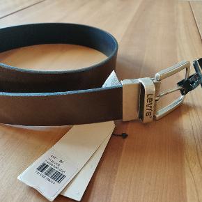 Brunt læder bælte str 90., aldrig brugt pga.forkert størrelse