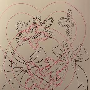 Elegant juleklip - bog af Gitte Schou Hansen med illustrationer, beskrivelser og skabeloner. 64 sider måler 28x21 cm. Pris kr 40.