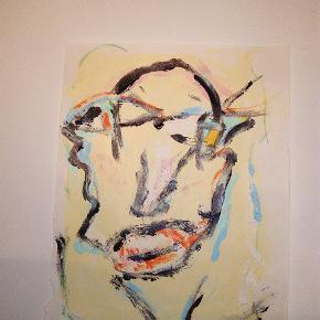 Sælger disse malerier UDEN Ramme. 200 kr. Inklusiv fragt 27 x 36  cm  DENNE ER SOLGT MEN JEG KAN MALE LIGNENDE Følg med på min profil, flere malerier er til salg
