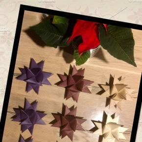 🌟RESTSALG🌟 🍁Flotte stjerner i skønne farver🍁  Stjernerne måler 9 cm i diameter  💞Kr. 10,00 pr. stk.  Sender gerne mod betaling af porto📦
