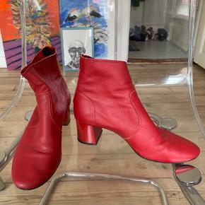 Skind støvler fra Mango #trendsalesfund