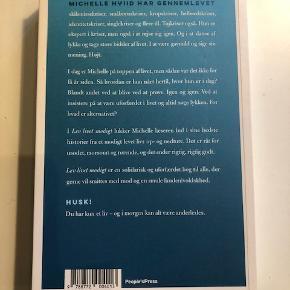 Michelle Hviid - Lev livet modigt (soft copy)  En bog Michelle har skrevet om at være uforfærdet i livet og lykken. Hun er kendt som foredragsholder, kvinde bag running-dinner og meget meget andet. Absolut læsværdig og med gode anmeldelser.  Byd :-)
