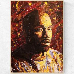 For bedre opløsning se min instagram eller Facebook.   Art by Bisse. Collagekunst. Sælges som print i lækkert 170 g. papir. (uden ramme)  300 kr. for afhentning i Århus/330 kr. inkl fragt. Kanye West plakat A2. (420x594 mm)   💥Følg gerne min instagram artbybisse, som bliver opdateret løbende. 🙂  💥http://www.facebook.com/artbybisse  Tags: Kanye West, kunst, plakat, poster, Urban, hiphop, artbybisse, graffiti, collage