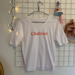 Hvid Chaleur t-shirt fra Rouje. Str. 38 fr. (svare til str. 36/38)