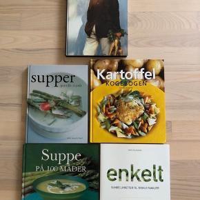 Kogebøger 25 kr pr stk