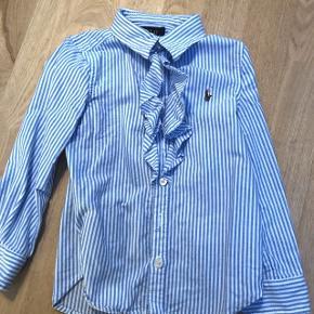 🐎Polo Ralph Lauren🐎 Sød flæse skjorte i str 3 år