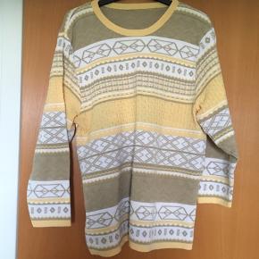 Sød retro / vintage trøje str M i bomuldsblanding. Standen er perfekt!