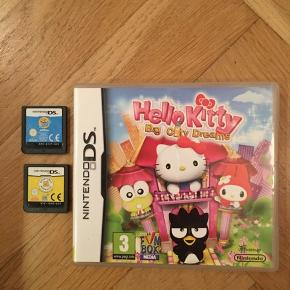 Spil til Nintendo DS  -Hello Kitty-Big City dreams (3+) -Build-a-Bear Workshop -Zhu Zhu Pets  Prisen er pr. stk.
