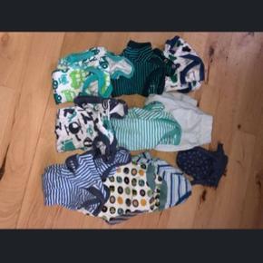 Babytøj str 50, tøjet er brugt meget lidt, fra røgfrit hjem.