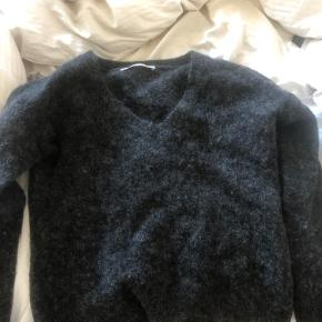 Mohair/uld sweater