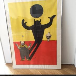 Storm P litografi Klovnen Nypris 1250 kr