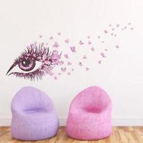 Wallsticker til pige/ Teenage værelset Størrelse: 60 x 90 cm Farve: Flerfarvet  Smuk Wall stickers som f. eks enhver Teenager vil elske Materiale: PVC Størrelse  60*90cm  Ophængnings tips. Klip mærkerne ud enkeltvis, og sæt dem først op med malertape, så du kan se, hvor du vil have dem. Husk, at væggen skal helst være helt jævn!  Riv forsigtigt den hvide bagside af, og lim derefter den klare side op på væggen. Dernæst hives den klare side af, og dup forsigtigt fast.  Nyd din smukke walsticker   Wallstickeren  koster 75.kr  + forsendelse med Coolrunner 37 kr. ... ...
