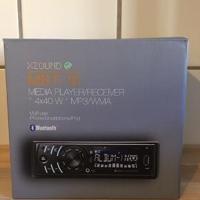 Helt nyt XZOUUND bluetooth anlæg til bilen sælges. Købt denne sommer.  Kun installeret og brugt én gang (fejlkøb, savnede min gamle radio med cd-afspiller).   Pris på udsalg: 400 kr. Din pris: 175  Kan sendes for købers regning