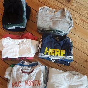 Indeholder: 4 x bukser 1 x heldragt 4 x natdragter 7 x T-shirts 6 x l/æ body 1 x skjorte