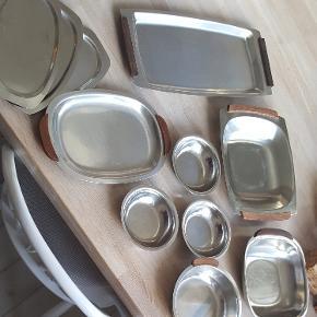 Rustfri stålfade sælges samlet  afhentes på amager