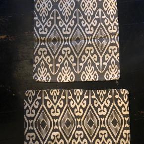 Sælger disse pudebetræk  35kr/stk  Fås i  to farver og to str Nye og aldrig brugt