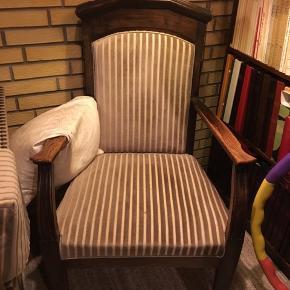 Ældre retro stol sælges BYD Matcher med sofa som også sælges
