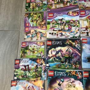 Lego friends alt er der og alle samlehæfter er der.