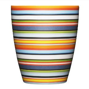 5 stk kopper med striber. Uden skår eller ridser. Nypris per stk 150,- sælges samlet for 300,-