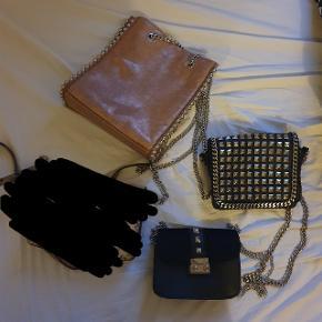 50,- taske. Den lille sorte er fra pieces, mens de to andre er fra Zara.