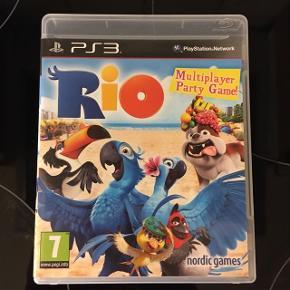 Rio PS3 spil Virker perfekt