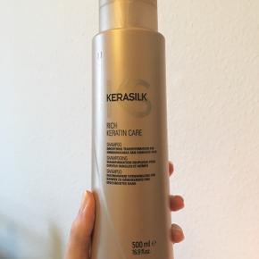 Goldwell Kerasilk shampoo 500 ml. Uåbnet. Bytter gerne