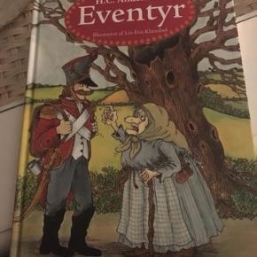 H.C.Andersen eventyrbog. Se billede 2 for emner i bogen. Fin stand