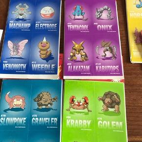 Pokemon klistermærker forskellige farver og motiver  1 stk 5kr 3 for 10kr