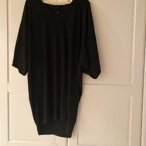 Just Female oversized tunic dress in black marl. Super soft. Viscose polyester blend.