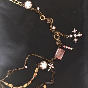 Bælte smykke kan også bruges til halskæde lyserøde hvide  Smykke smykker  #Secondchancesummer