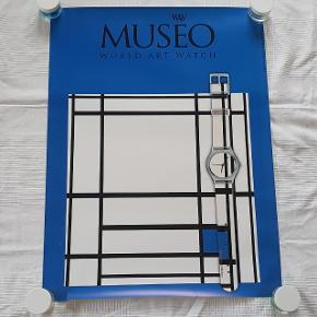 Måler 59,5 x 80 cm  Har en revne i bunden se sidste billede  Jeg sælger ud af min families store samling af plakater, der er samlet over mange år  Alle plakater er kun til afhentning på Teglholmen