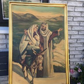 Billed maleri Højde ca :111 cm Bredte ca:76 cm