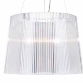 Kartelle loftlampe til salg da ny er købt.