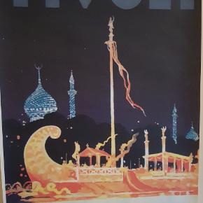 3 utrolig flotte Tivoli retro plakater fra en Tivoli samling.