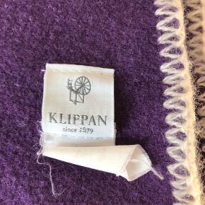 Lilla uld-plaid fra Klippan. Fra røg- og dyrefrit hjem.