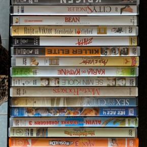 27 dvd'er sælges samlet. Fejler intet.