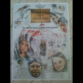 Original filmplakat Hotel New Hampshire 62 x 84 cm