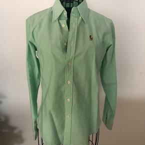 Ralph Lauren Oxford skjorte Ralph Lauren skjorte i grøn str. Small Aldrig brugt
