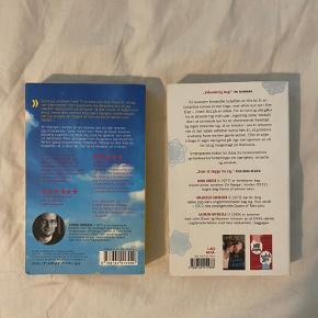 Bøger fra John Green, En flænge i himlen og Let it snow bog, begge på dansk. Sælges samlet for 100 eller hver for sig for 60.