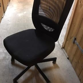 Ikea chair. FLINTAN model. Width: 74cm Depth: 69cm Min.height: 102cm Max.height: 114cm  I have used it just for 7 months. I moved in another place and didn't need my own furnitures anymore. It is currently at the storage room. It is not being used.  To pick up very close from the lakes Søerne. 😊