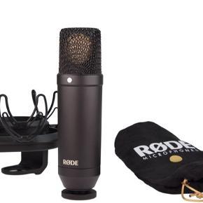Røde NT1 complete recording kit - aldrig brugt - ny pris 2000 - BYD