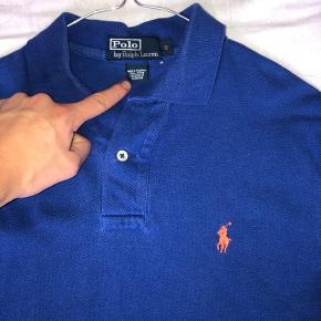 Ralph Lauren Polo Str small Blå med orange hest