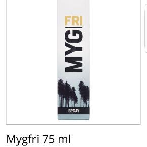 Ny og uåbnet mygfri spray til at beskytte imod myg .