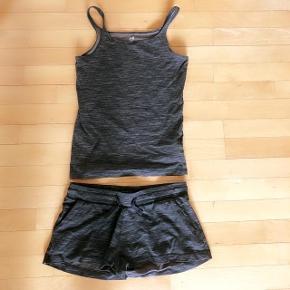 H&M stroptop og shorts str 152 cm sælges samlet