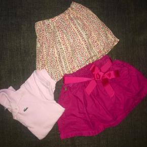 116 tøjpakker Tøjpakke  Ralph lauren nederdel pink Noa Noa nederdel og lyserød Lacoste  polo trøje