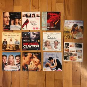 Blandet dvd film og en enkelt cd