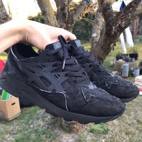 Sorte Asics gel Kayano. str. 40.5 - US 7.5  Skriv for billeder eller bud.