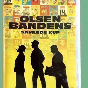 """Boks med 14 dvder Olsen-bandens samlede kup, instruktør Balling   Det er nu 40 år siden de kom til verden, skabt af makkerparret instruktøren Erik Balling og manuskriptforfatteren Henning Bahs. Mere præcist fik den første Olsen Banden film premiere den 11. oktober 1968, og banden og dens geniale kup blev herefter i mange år en tilbagevendende biografbegivenhed, der nærmest overgik sig selv fra år til år. Det blev til en filmserie for folket, høj som lav, og vi lærte alle at sige Bennys glade optimistiske """"Skide godt, Egon"""", Kjelds bekymrede og frygtsomme """"jeg ska' nok"""" og ikke mindst Egons spruttende vredesudbrud om """"skidesprællere"""" og """"elendige socialdemokrater"""". Og vi skal ikke glemme den elskelige og dejlige furie Yvonne, som sætter alt i gang, fordi Børge skal konfirmeres eller en rejse til Mallorca skal finansieres. Det drejer sig jo blot om at skaffe nogle millioner, og Egon har jo altid en genial plan.  Set en enkelt gang så alle i fin stand.  Porto 37 kr"""