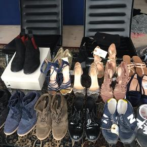 Alle sko/sneakers/støvler til salg str. 37 - kom med et bud - min. 100kr pr. Par Herre støvler dog i str. 42